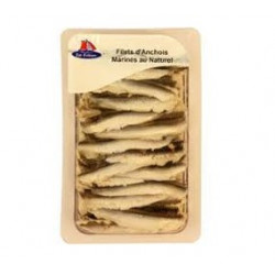 Filets d'anchois marinés au...