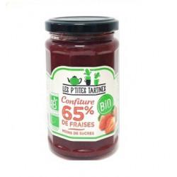 Confiture de fraises BIO 255g